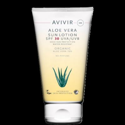 Avivir Aloe Vera Sun Lotion SPF 30 • 150 ml.
