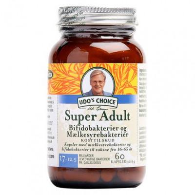 Udo's Choice Super Adult • 60 kaps.