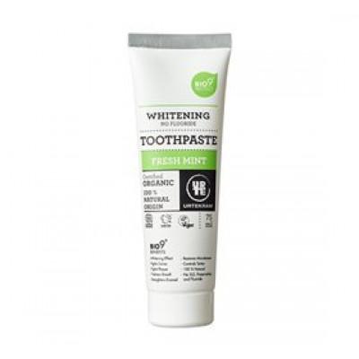 Urtekram Tandpasta fresh mint Bio9 • 75ml.