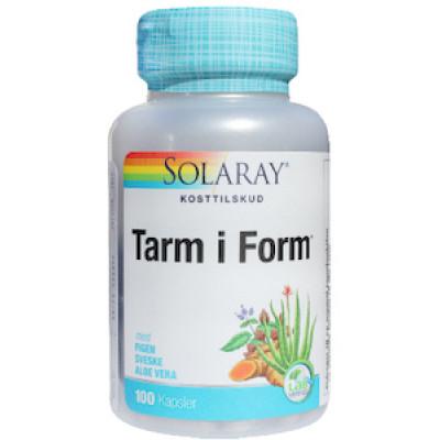 Solaray Tarm i Form • 100 kaps.