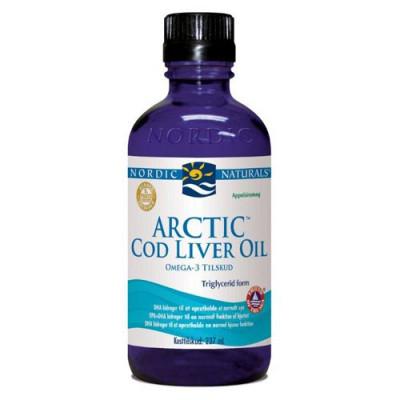 Arctic Cod Liver Oil m. appelsin • 237 ml.