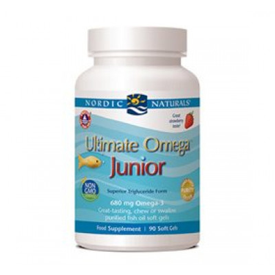 Nordic Naturals Ultimate Omega Junior • 90 kap.