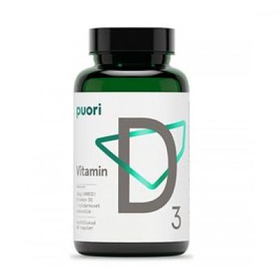 Puori Vitamin D3 10 mcg. • 60 kap.