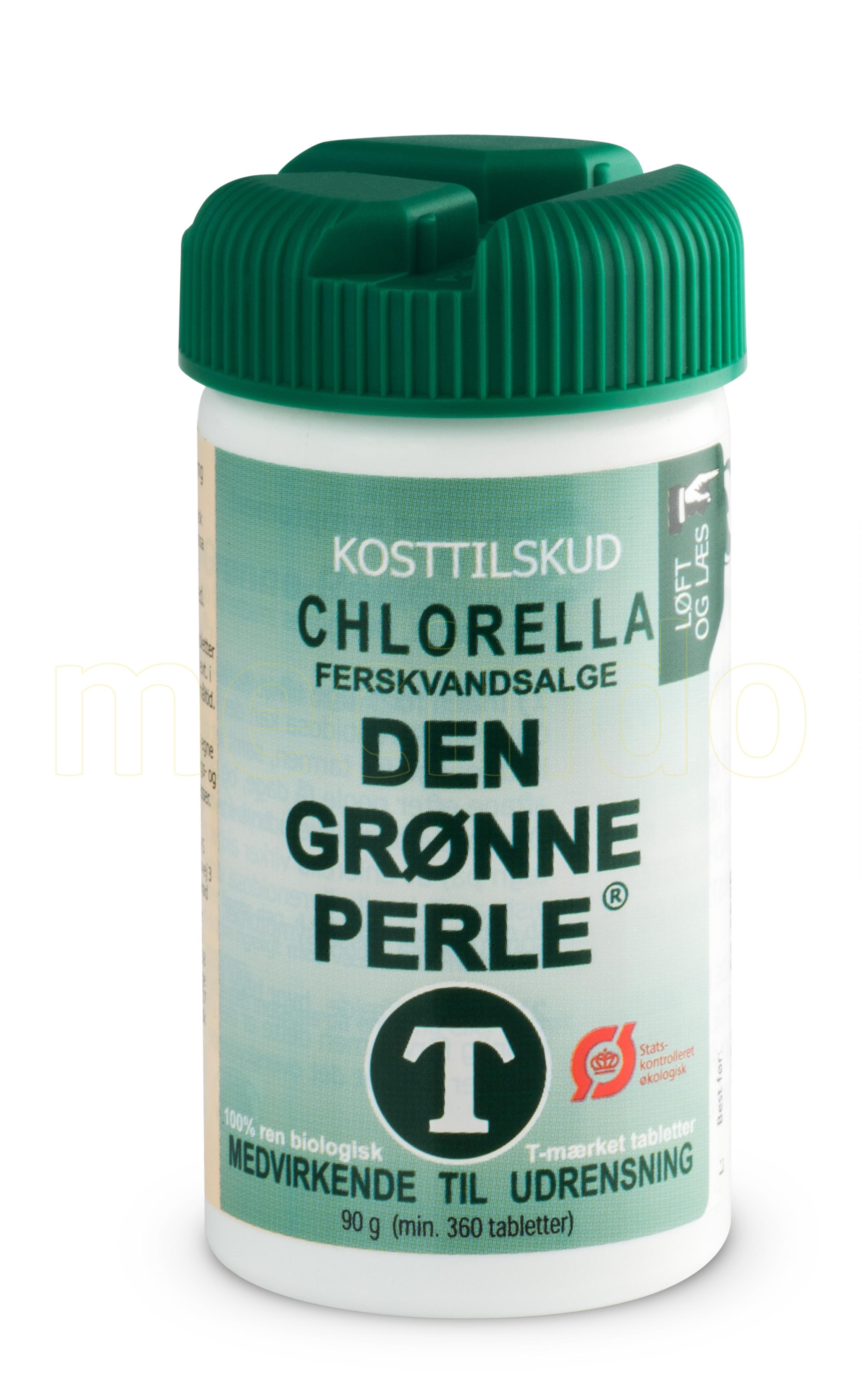 Chlorella Ferskvandsalge Chlorella Den Grønne Perle Ø