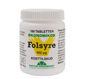Natur-Drogeriet Folsyre Økonomikøb