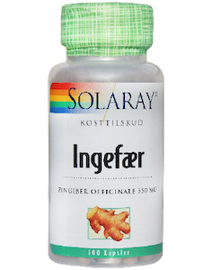 Solaray Ingefær