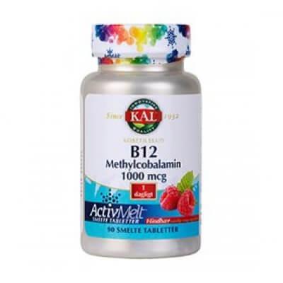 KAL B12 Methylcobalamin • 90 tab.