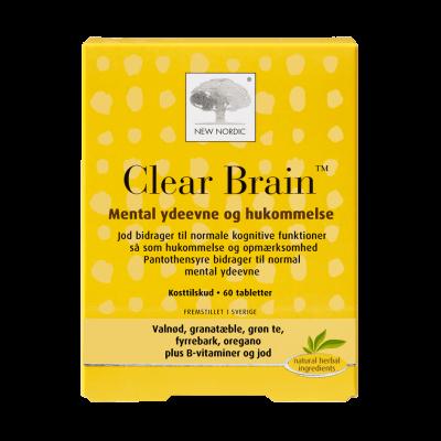 New Nordic Clear Brain™ • 60 tabl.