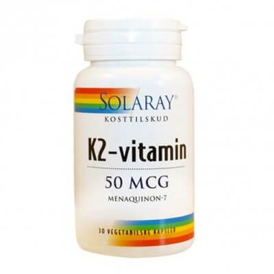 Solaray K2-vitamin 50 mcg