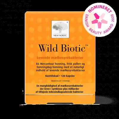 New Nordic Wild Biotic 120 kapsler