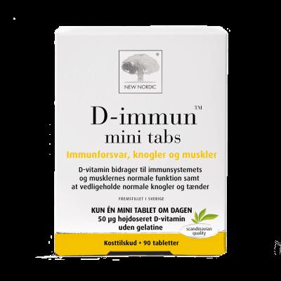 New Nordic D-Immun™ mini tabs 90 tabletter