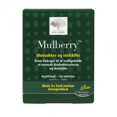 New Nordic Mulberry 120 tabletter - Datovare