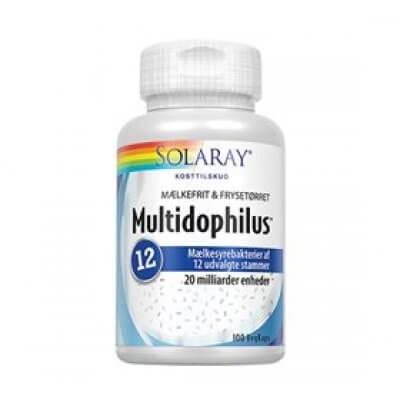 Solaray Multidophilus 12 • 100 kapsler