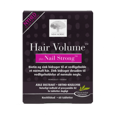New Nordic Hair Volume™ plus Nail Strong
