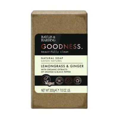 Sæbe lemongrass & ginger Baylis & Harding Goodness • 200g.