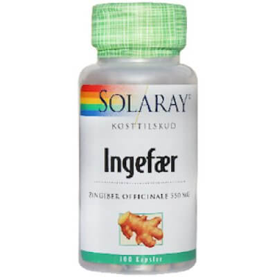 Solaray Ingefær • 100 kap.