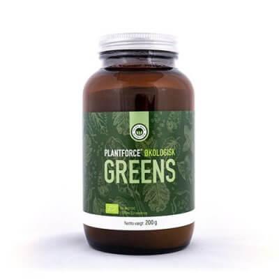 Plantforce Økologisk Greens Ø • 200g.