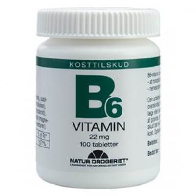 Natur-Drogeriet B6-vitamin 22 mg • 100 tab.