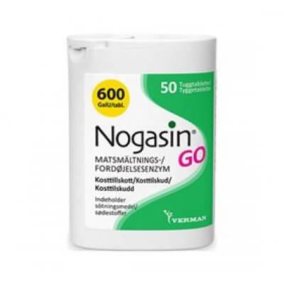 BioSym Nogasin GO • 50 tab.