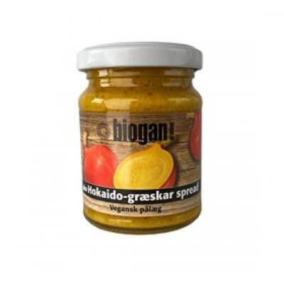 Biogan Hokaidogræskar smørepålæg Ø • 125g.