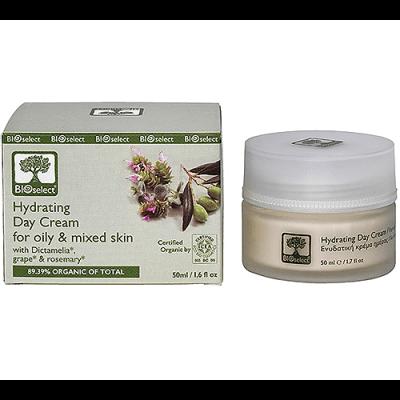 Bioselect Dagcreme til olieret og kombineret hud • 50ml.