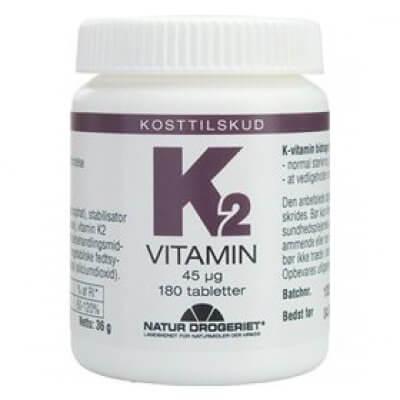 Natur-Drogeriet K2-vitamin • 180 tab.