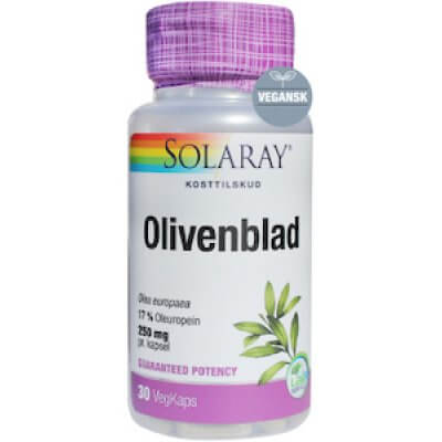 Solaray Olivenblad • 30 kaps.
