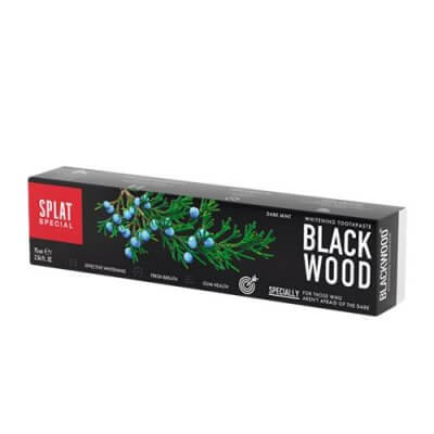 Splat Tandpasta Blackwood uden fluor • 75ml.