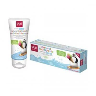 Splat Tandpasta børn 2-6 år fruit ice cream •  50ml.