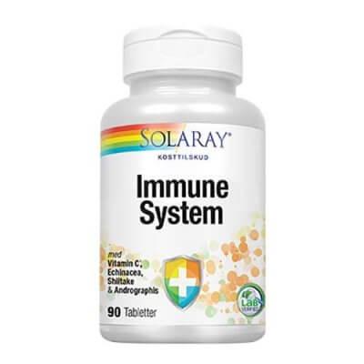 Solaray Immune System 90 tabletter