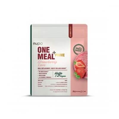 Nupo One Meal+ Prime MRP Powder Vegan Strawberry • 360g.