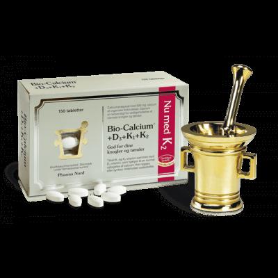 Pharma Nord Bio-Calcium+D3+K1+K2 • 150 tabl.
