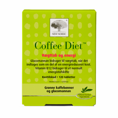 New Nordic Coffee Diet™ 120 tabletter - Datovare