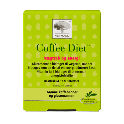New Nordic Coffee Diet 120 tabletter - datovare