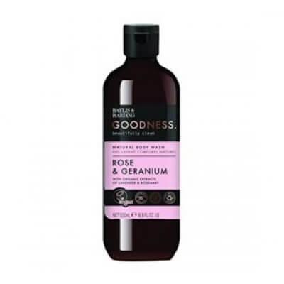 Baylis & Harding Goodness Body Wash rose & geranium • 500ml.