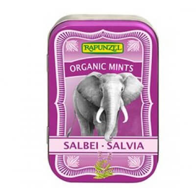 Biogan Mintpastiller m. salvie Ø • 50g.