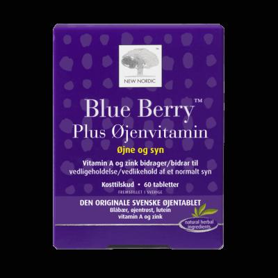 New Nordic Blue Berry Plus Øjenvitamin • 60 tabl.