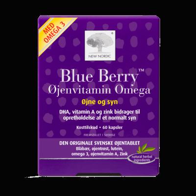 New Nordic Blue Berry Omega 3 • 60 kaps.
