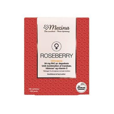 Mezina RoseBerry 180 tabletter