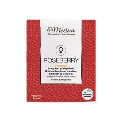 Mezina Roseberry 90 tabletter